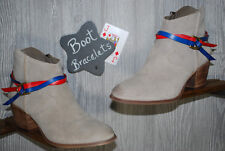 Boot Bracelet Handmade Red/Blue(J Diamond)