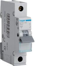 HAGER CONSUMER UNIT SP MCB CIRCUIT BREAKER MTN140 40A 40 AMP