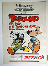 TOPOLINO supplemento a IL MESSAGGERO Topolino Eta Beta e il tesoro di Mook 1