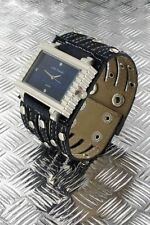 + Wristwatch °° Nele Fortados  DAMENUHR mit Armband im Jeans-Look  JB010615