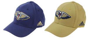 Adidas NBA New Orleans Pelicans Flex Fit Hat OSFM, 2 Color Options