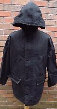 Mens Ralph Lauren Faded Black hooded Jacket Size Medium Casuals Terrace