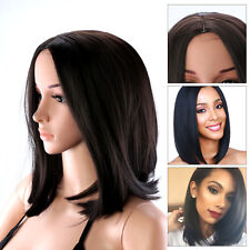 Cool Women Ladies Wig Short Straight Black Hair Black Hair High Quality