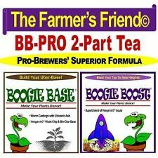 STOP SELL IN CA Boogie Brew PRO Complete Compost Tea Fertilizer 3lLB = 50 Gallon
