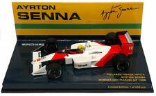 Minichamps McLaren MP4/4 Imola GP 1988 World Champion - Ayrton Senna 1/43 Scale