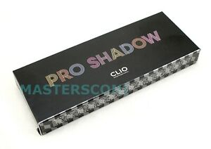 CLIO PRO SHADOW PALETTE EYESHADOW MAKEUP .7 G X 8 COLORS