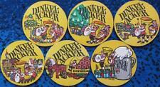 Bierdeckel Serie - Dinkelacker Stuttgart - 6 verschiedene - 1972