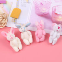 Mini 4cm rabbit plush stuffed baby toy doll for kids candy box gift toys love Fy