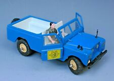 BRITAINS LTD 1970's: #9576 LWB LAND-ROVER with PLASTIC DRIVER...!!