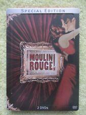 Moulin Rouge (Steelbook) [Special Edition] 2 DVDs Set - Top Musikfilm-Neuwertig!