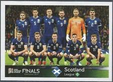 PANINI ROAD TO UEFA EURO 2020-#465-SCOTLAND TEAM PHOTO