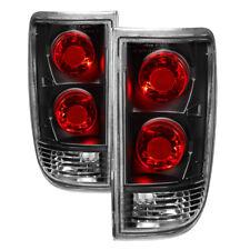 Jdragon Chevy 1995-2005 Blazer Jimmy Bravada Black Replacement Tail Brake Lights