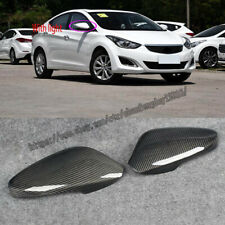 For Hyundai Elantra 2012-2016 Real carbon fiber Look Side Door Mirror Cover Trim