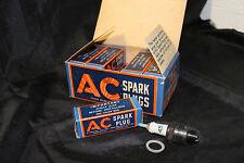NOS AC 45 Spark Plugs 10 Pack 1941 WWII Era Very Rare (C-5)