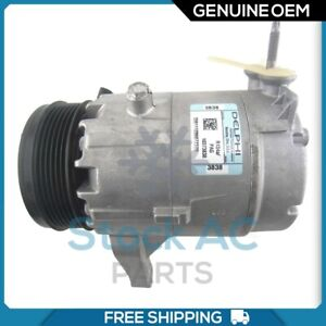 New OEM A/C Compressor for Chevy Malibu / Buick Allure, LaCrosse / Pontiac G6..
