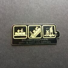 WDW - Ride Series Splash Mountain / Dry is not an Option Disney Pin 30081