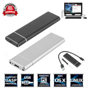M.2 NGFF SSD Hard Disk Drive Case USB Type-C USB 3.1 PCIE HDD Enclosure Box