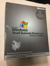 Windows Small Business Server 2003 Premium Edition - Brand New-Never Opened