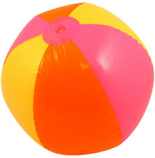 Inflatable Beach Ball - 40cm - Blow Up Toy Loot/Party Bag Volleyball Game Fun