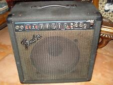"""VINTAGE Fender JAM amplifier USA solid state 12"""" combo built in chorus reverb"""