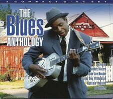 THE BLUES ANTHOLOGY - 3 CD BOX SET - MUDDY WATERS, JOHN LEE HOOKER & MORE