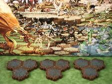 Rock 3-Hex Tile X3 Heroscape Terrain