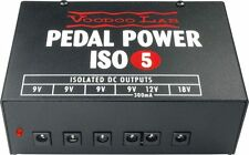 NEW VOODOO LAB PEDAL POWER ISO-5 EFFECTS PEDAL POWER SUPPLY FREE SHIPPING !!!!!!