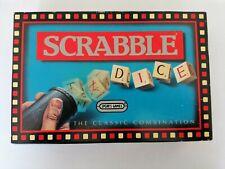 SCRABBLE DICE SPREARS GAMES 1988 COMPLETE