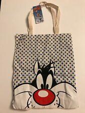 Primark Looney Tunes Sylvester die Katze Wieder Baumwolle Tote Einkaufstasche