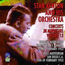 STAN KENTON/STAN KENTON & HIS ORCHESTRA - CONCERTS IN MINIATURE, VOL. 13 NEW CD