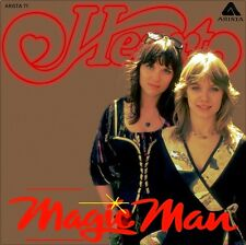 "7"" HEART Magic Man / How Deep It Goes ANN & NANCY WILSON SISTERS ARISTA UK 1976"