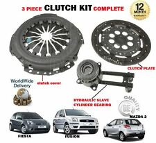 FOR FORD FIESTA FUSION MAZDA 2 DIESEL 1.4 TD TDCI 2002-> NEW 3 PIECE CLUTCH KIT