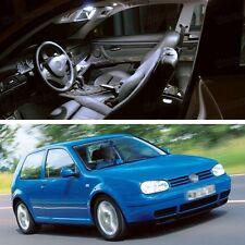 11Pcs LED SMD White Light Interior Bulb Kit for 1997-2001 Volkswagen Golf MK4