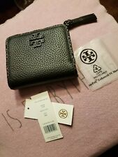 Tory Burch Taylor Leather Mini Wallet Black 52722 1018