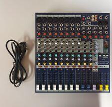 1 gebrauchtes Soundcraft efx Mischpult mit Koffer.