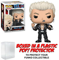 Funko POP! Rocks ~ BILLY IDOL (#99) VINYL FIGURE w/Protector Case ~ Rock Stars