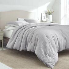 Nautica Ballastone Comforter 3 Piece Set In Grey SIZE FULL QUEEN NEW
