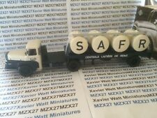 SEMI-REMORQUES D'EXCEPTION N°16 UNIC ZU 102 T CITERNE LAIT SAFR 1/43 NEUF IXO