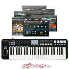 Samson Graphite 49 - USB MIDI Keyboard Software Controller Bundle