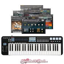 Samson Graphite 49 - USB MIDI Keyboard Software Controller Bundle