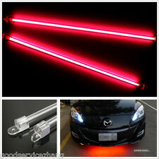 4Pcs RED CCFL Cold Cathode Tube Car Footwell Undercar Underbody Atmosphere Light