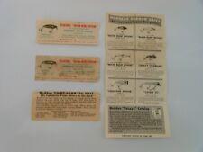 Vintage Heddon River Runt Papers