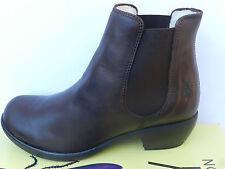 Fly London Make Chaussures Femme 40 Bottines Fourrées Chelsea Warm Boots Mel UK7