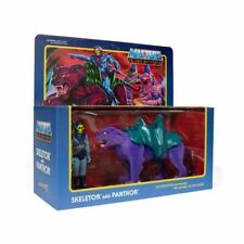 Skeletor & Panthor Masters of the Universe Super 7 ReAction Action Figure New