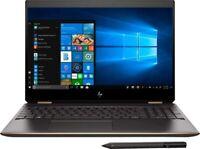 """HP Spectre x360 15T Gemcut,15.6""""4K UHD Touch,i7-9750H,1TB,16GB,WIN10 PRO,Nvid4GB"""