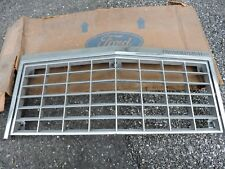 NOS 1980 1981 1982 FORD THUNDERBIRD T-BIRD FRONT CHROME RADIATOR GRILL GRILLE