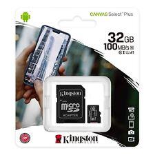Memoria Kingston MicroSD 32GB Clase 10 Canvas Select Plus - 32 GB Micro SD