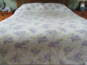 Excellent Laura Ashley Keighley Lilac Quilt King Size Kayleigh & Co. Lavender