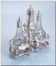 Zilveren olie en azijnstel Den Haag