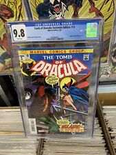 REPRINT of TOMB OF DRACULA # 10 CGC 9.8. FACSIMILE EDITION (1/20). FIRST BLADE!